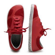 Barefoot Barefoot boty ZAQQ QAANAAQ red bosá