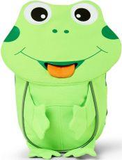 Batůžek pro nejmenší Affenzahn Frog small neon green