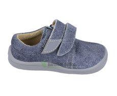 Beda Barefoot Denis - nízké boty šedá podrážka | 21, 28, 29, 31, 32, 34