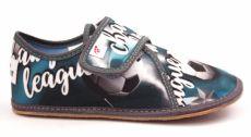 Ef barefoot papučky 394  Champion grey -  uzavřené | 25, 26, 28