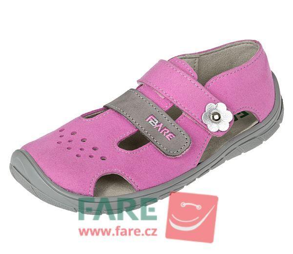 Barefoot FARE BARE dětské letní boty B5562251 bosá