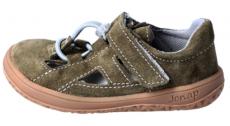 Jonap barefoot sandále B9S khaki   29