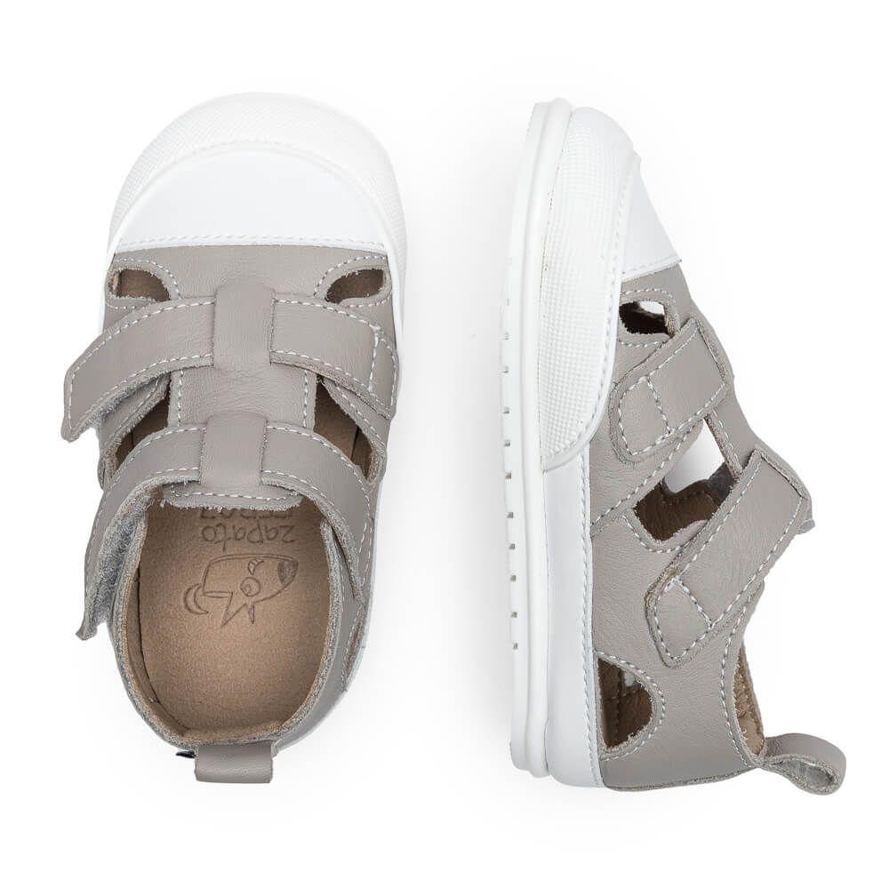 Barefoot Sandálky zapato FEROZ Javea Gris bosá