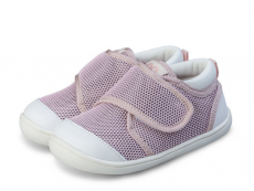 Barefoot Tenisky Little blue lamb Pop pink bosá