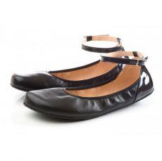 SHAPEN Barefoot balerínky TULIP II Black wide | 42