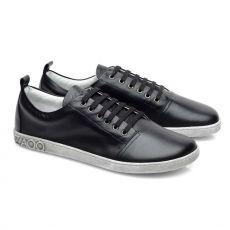 Barefoot boty ZAQQ TAQQ nappa Black