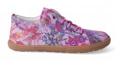 Barefoot celoroční boty KOEL4kids - KOEL4kids - Lady fuchsia flowers | 41