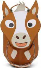 Batůžek pro nejmenší Affenzahn Small Friend Horse - brown