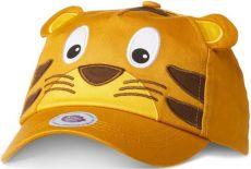 Dětská kšiltovka Affenzahn Kids Cap Tiger - Yellow