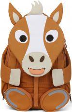 Dětský batoh do školky Affenzahn Large Friend Horse - brown