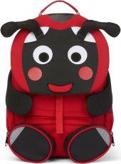 Dětský batoh do školky Affenzahn Large Friend Ladybird - red