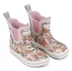 Barefoot Holínky Bundgaard SHORT Rubber Boot Rose flamingo bosá