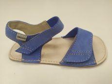 OKBARE barefoot sandálky Mirrisa D203 G modrá | 25, 26, 27, 28, 29, 30