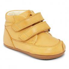 Barefoot boty Bundgaard Prewalker II Velcro Yellow WS | 20, 21, 22