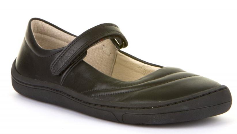 Barefoot Froddo barefoot balerínky Black bosá