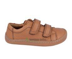 Froddo barefoot celoroční boty cognac - 2 suché zipy