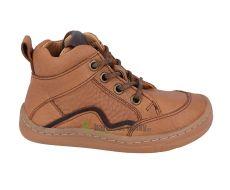 Froddo barefoot celoroční boty cognac - tkaničky