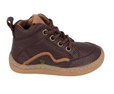 Froddo barefoot kotníkové boty brown - tkaničky