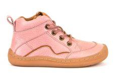 Froddo barefoot kotníkové celoroční boty pink - tkaničky | 20, 21, 22, 23, 24, 37, 38, 39, 40