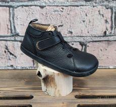 Barefoot kožené boty Pegres  BF52 - černá | 26, 28