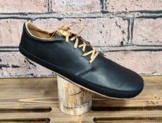 Barefoot kožené boty Pegres  BF71 - černá | 37, 38, 40, 43