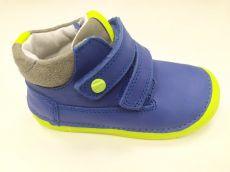 DDstep 070 celoroční boty - modrá s neonovou podrážkou | 22, 25