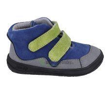 Jonap barefoot boty BELLA S modrozelená  SLIM | 22, 25, 26, 27, 29, 30
