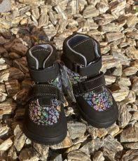 Jonap barefoot boty JERRY černá lesklá   22, 23, 24, 25, 26, 29