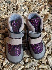 Jonap barefoot boty JERRY srdce SLIM | 22, 23, 25