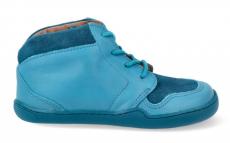 Kotníkové celoroční boty bLIFESTYLE - PANGOLIN lace tyrkys  | 21, 23, 24, 25