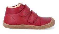 Barefoot celoroční boty KOEL4kids - DON red | 23