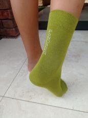 Barefoot PoNOŽKA zelená   37-38, 39-41, 42-44, 45-47