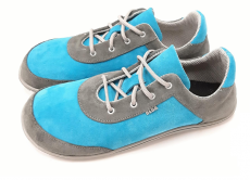 Beda barefoot kožené boty - grey heaven | 40, 41