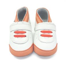 Capáčky Lait et Miel tenisky oranžové | 12-18 M, 18-24 M