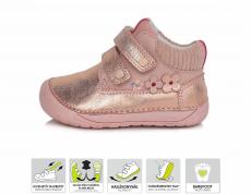 DDstep 070 celoroční boty - růžová 520C   20, 21, 22, 23