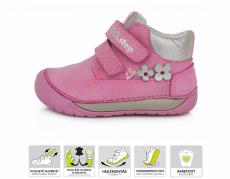 DDstep 070 celoroční boty - tmavě-růžová 520B   21, 23, 24