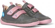 Dětské barefoot boty Affenzahn Buddy Forever leather - midcut Koala | 27