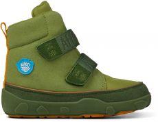 Dětské zimní barefoot boty Affenzahn Comfy Jump midboot - vegan - Dragon | 25, 26, 27, 28