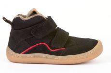 Froddo barefoot zimní kotníkové boty black | 23, 24, 25, 26, 27, 37, 38, 39, 40