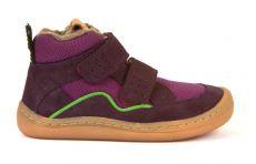 Froddo barefoot zimní kotníkové boty purple | 23, 24, 25, 26, 27, 37, 38, 39, 40