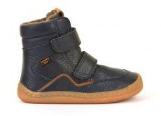 Froddo barefoot zimní vysoké boty blue - s membránou | 23, 24, 25, 26, 27, 28, 29, 30, 31, 32, 33, 34, 35
