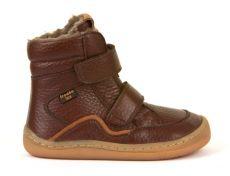 Froddo barefoot zimní vysoké boty brown - s membránou | 23, 24, 25, 26, 27, 28, 29, 30, 31, 32, 33, 34, 35