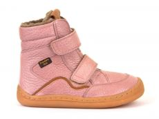 Froddo barefoot zimní vysoké boty pink - s membránou | 23, 24, 25, 26, 27, 28, 29, 30, 31, 32, 33, 34, 35