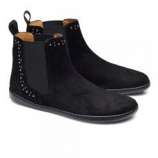 Kožené boty ZAQQ SPARQLE velours Black | 43