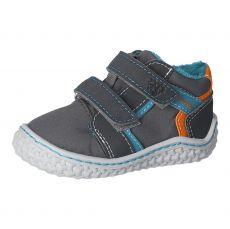 Zimní barefoot boty RICOSTA Lion M graphit/grigio 17219-454 | 20, 21, 22, 23, 24, 25, 26
