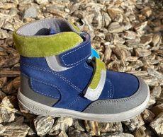 Jonap  barefoot boty FALCO modrozelené  | 23, 24, 25, 26, 27, 29, 30