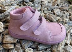 Baby bare shoes Febo Fall pink