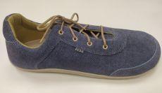 Beda barefoot kožené boty - jeans | 44, 45