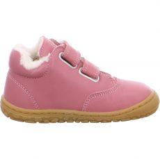 Lurchi zimní barefoot boty - NIKLAS nappa rose | 22, 23, 24, 25