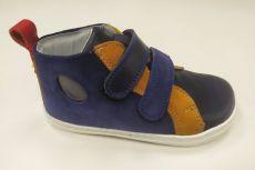 OKBARE kotníčkové barefoot boty LIME BF D 2250 blue | 27, 28, 30, 31